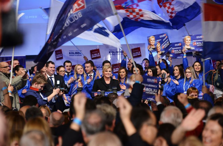 Presidential Elections in Croatia: The First Female Head of the State